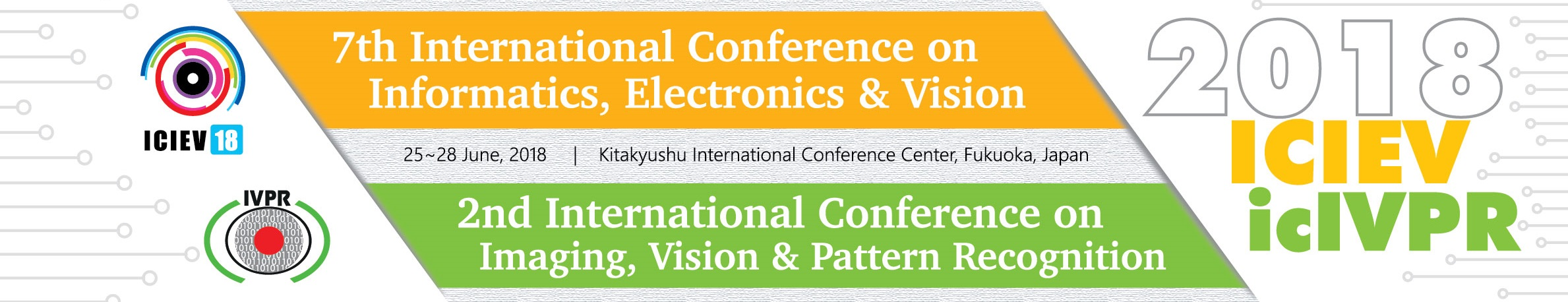 7th ICIEV & 2nd icIVPR 2018: 7th Intl  Conf  on Informatics